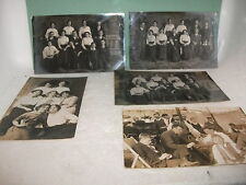 vintage postcards portraits (social history) (real photo) family groups