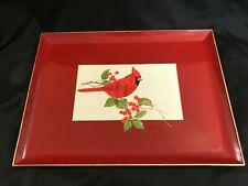 Otagiri Lacquerware Tray Cardinal