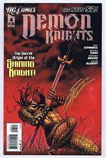 Demon Knights #4 Signed w/COA Mike Choi VF/NM 2012 DC Comics