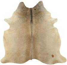 peau de vache taureau beige gris 230 x 170 cm peau de bœuf Tapis peau de vache