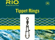 RIO Tippet Rings 10 Pack 2mm Diameter 25lb Leader-Tippet Connector