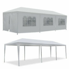 Segawe GSD-H021233 10'x30' Outdoor Canopy Party Wedding Tent - White