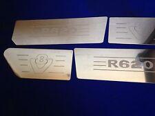SCANIA v8 r620 aria Dam & Wing inserti in acciaio inox inciso Logo