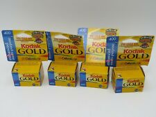 Kodak 400 Speed Film - 4 Rolls 36 Exposures - New