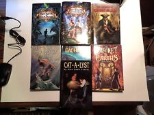Book lot of 7 hard cover young adult and Syfy