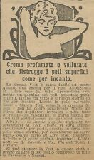 W5938 Crema vellutata depilatoria Veet - Pubblicità 1924 - Advertising