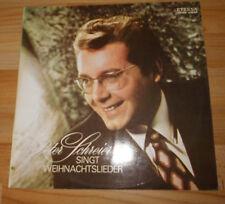 Schallplatte DDR Weihnachten + Peter Schreier singt Weihnachtszeit + Eterna LP