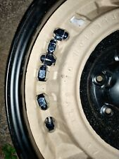 6 ALLOY WHEEL NUTS off TOYOTA Hilux 2019