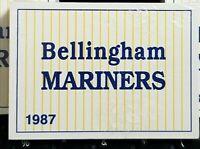 1987 BELLINGHAM MARINERS FACTORY SEALED KEN GRIFFEY JR PRE-ROOKIE ! one set only