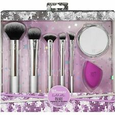 Real Techniques - Disco Glow - Make-up-Pinsel-Geschenk-Set, mit Miracle Teint Bl