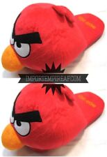 ANGRY BIRDS UCCELLO ROSSO RED CIABATTE pantofole peluche slippers cosplay bird