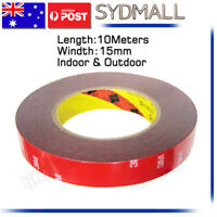 3M Genuine Automotive Acrylic Plus Double Face Sided Tape 15mm 10Meters STOCK