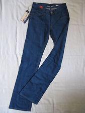 Miss Sixty Tom Blue Jeans Stretch Denim W26/L34 low waist slim fit flare leg