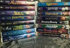 Classic Disney VHS collection