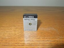 Merlin Gerin 36204 300A Rating Plug for CJ 400A Frame Breaker Used E-Ok