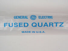 NEW GE Type 214 Fused Quartz Tubing, 54mm OD x 50mm ID x 1240mm Length