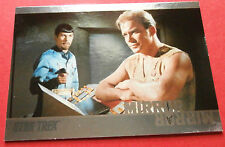 "STAR TREK TOS 50th Anniversary - MM37 ""MIRROR, MIRROR"" (uncut) - Foil Chase Card"
