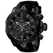 New Mens Invicta 11962 Reserve Venom Black IP Steel Chronograph Watch