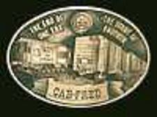 Cab-Fred solid bronze belt buckle #129/300