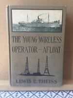 1920 Wireless Patrol Series - Young Wireless Operator -Afloat by Lewis Theiss