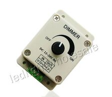 Manual Knob Led Dimmer 12V-24V 8A For 5050 3528 Single Color Led Strip Light DIY