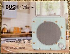 Bush Classic Mini DAB & FM Radio - Retro Bee Pattern with LCD Display - NEW