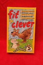 Jeu société enfants Fit + Clever - Schmidt - Trouver des mots / Action - complet