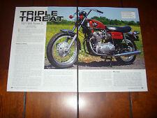 1971 BSA ROCKET 3  - ORIGINAL ARTICLE