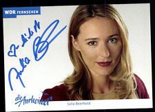 Julia Beerhold la anrheiner autografiada mapa original firmado # bc 52665