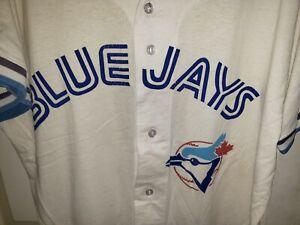 Vintage TORONTO BLUE JAYS Baseball Team #4 Matthew MLB Jersey XLarge