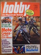 HOBBY 23 - 3.11. 1976 Moto-Cross ENTE Citroen LN + 2 CVBawemo-Reisemobil Matra