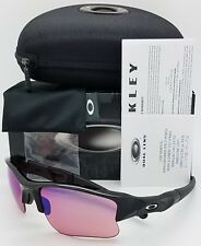 NEW Oakley Flak Jacket XLJ sunglasses Jet Black G30 Iridium 03-921 GENUINE Golf