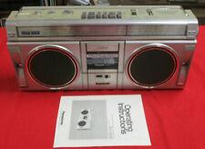 PANASONIC RX-5005 boombox AM/FM/Cassette w/manual