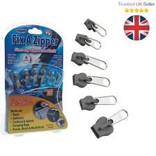6 Pcs Fix A Zipper Zip Slider Repair Instant Removable Mend Rescue Replacement