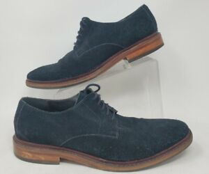 Cole Haan Williams Buck II Black Suede Mens Lace Up Shoes Sz 12 M