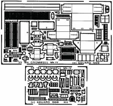 EDUARD 35184 1/35 Photo-Etched DETAIL SET for TAMIYA CROMWELL MK.IV #35221