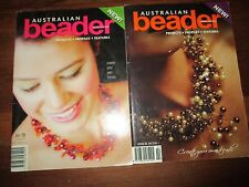 Craft beads Australian Beader Magazine Issue 1 & 2