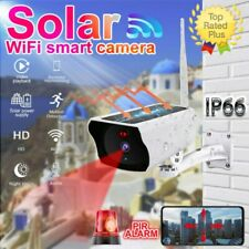 1080P Solar Powered Energy Wireless WiFi IP Camera Outdoor Home Security Cam