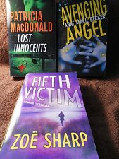 Suspense 3 Pack new paperback books Fifth Victim, Lost Innocents, Avenging #993
