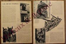 Article Le sexe faible,femmes d'exception, ,photos  1934