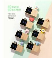 BT21 Baby LED Digital Desk Clock Official LINE FRIENDS X BTS Bangtanboys Goods
