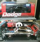 Dodge Charger Daytona 1969 1/18 Black Chrome Red Wing 204 Limited Edition