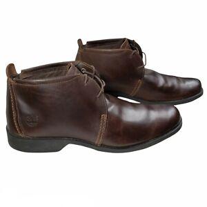 Timberland 11.5 City Grove Earthkeepers Chukka Boots Dark Brown Men's