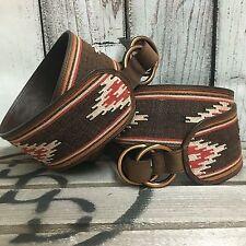 ANGEL RANCH Cowgirl Western AZTEC HIP Belt Gypsy Southwest MEDIUM