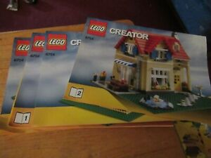 Lego Creator 6754 Family Home instruction book/manual only set