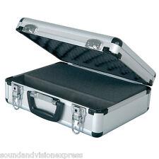 Chord Lockable Flight Case for Microphone + DJ Band Equipment +Customisable Foam