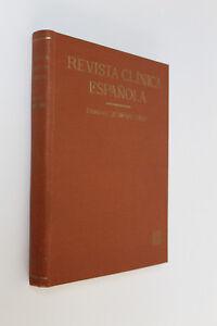 Antigua Revista Clinica Española C. Jimenez Diaz. Tomo IV 1942 - Enero a Marzo