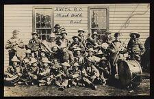 ANETA ND North Dakota c1910 RP Mark Wald's Band