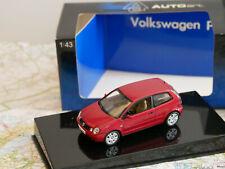 AUTOART VW POLO RED DIE-CAST ART.69767 1:43 NEW