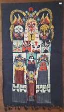 Hand made Chinese wax painting batik 58in x 35in #101